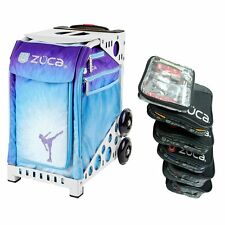 Zuca Ice Dreamz Sport Insert Bag with White Frame & Packing Pouch Set