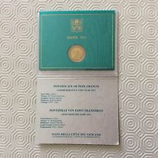 Coffret de 2 € commémoratif Vatican 2013