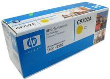 HP C9702A TONER ORIGINALE GIALLO PER STAMPANTE HP COLOR LASERJET 1500/2500