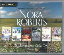 Nora Roberts MacGregors Collection Vol. 2 includes 6 Unabridged MP3 Audio Books