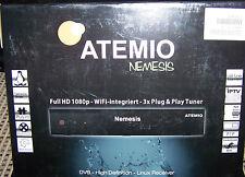Receiver Atemio Nemesis Full HD Linux, WiFi, 2 Kabeltuner  NEU/OVP