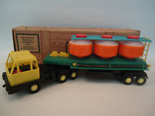 Vintage Rare Poland Plastic Cement Truck Trailer Toy New Oldstock in Box