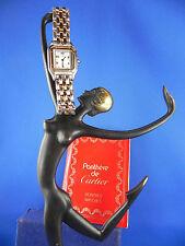 Cartier Quarz - (Batterie) Unisex Armbanduhren aus Edelstahl