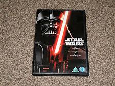 STAR WARS ORIGINAL TRILOGY : EPISODES IV - VI ( 4 - 6 ) DVD IN VGC (FREE UK P&P)