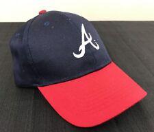 New Atlanta Braves ATL Adjustable Hat/Cap Baseball Re-New Merchandise