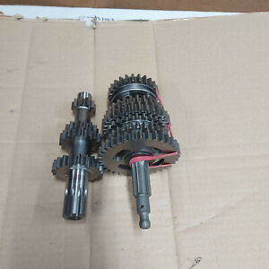 Ural 750 cc Main and  Secondary shafts of the gearbox assy Herzog (Austria)