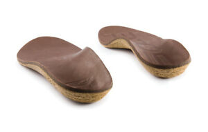 SOLE Unisex Casual Thick Dark Brown Insole - all sizes