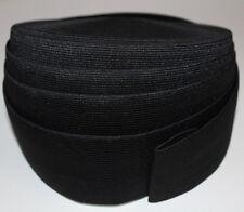1 m Gummiband 60 mm 6 cm Schwarz hohe Zugkraft gewebt Rock Kleid Gürtel