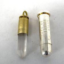 NRA USA Silver Bullet Brigade Charton Heston Douglas Diamond Bullet Pendants