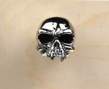 Chrome Skull Door Drawer Cabinet Wardrobe Pull Handle Knob ,men gift,skeleton