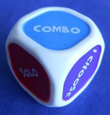 Cranium Cadoo Board Game Die Dice Replacement Game Part Piece Purple Red Blue