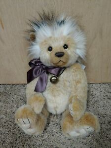 """Charlie Bears Tootles 2020 Isabelle Lee Plush Collection 16"""" Hedgehog"""
