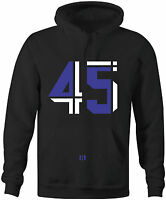 """""""THE 45"""" Hoodie to match Air Retro 11 """"SPACE JAM"""" 2016"""