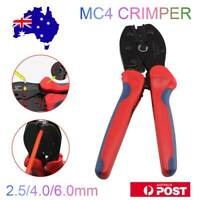 MC4 Solar Crimper Tool PV Crimping Pliers Wire Cable Connector Terminals Cutter