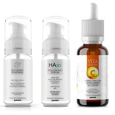 Kit J.armor Siero acido ialuronico + Siero bava di lumaca + Siero Vitamina C