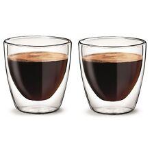 More details for aqualogis bodum delonghi espresso double wall insulated mug glasses 80ml (2pk)