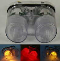 Tail Brake Turn Signals Light Clear For YAMAHA YZF R1 2000-2001 FZ1 2001-2005 03