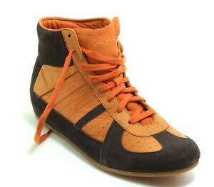 148 Schnürschuhe Halbschuhe Boots Herrenschuhe Sneaker 90er Leder Diesel 43