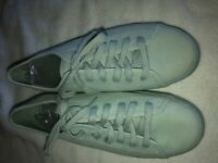 Kate Spade Green Sz 7 Keds  sneakers- Never worn Perfect condition no box
