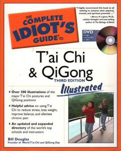 T'ai Chi & QiGong Illustrated Complete Idiot's DVD & Guide Book 3rd edition
