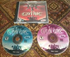 GOTHIC Part 1PC CD Rom Game 2001 Windows XICAT Interactive RPG Computer Complete