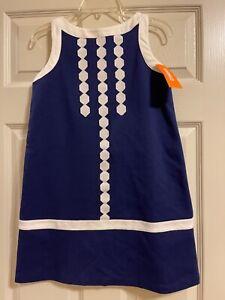 NWT Gymboree Girls Mod About Orange Blue Dress Size 10