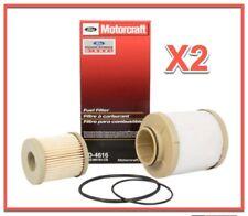 2 X FORD Motorcraft Diesel Fuel Filter Kit For Excursion F Series Turbo  6.0L V8