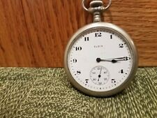 Antique Elgin Pocket Watch - Open Face - LOOK
