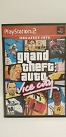Grand Theft Auto: Vice City PlayStation 2 PS2 Game Black Label COMPLETE & TESTED