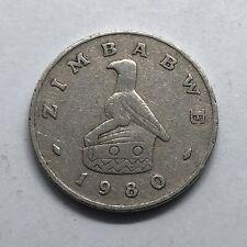 1980 Zimbabwe 10 Cents Eagle Bird (29)