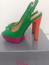 Damen High Heels / Sandaletten Lack Stilettos Gr. 38 Blink NEU