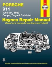 1965 - 1989 Porsche 911 Coupe Targa Cabriolet Haynes Service Repair Manual 8983
