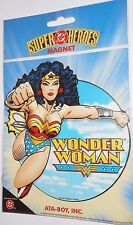 DC comics Super heroes WONDER WOMAN magnet 1999 Ata boy universe