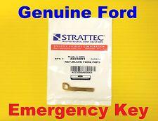 Genuine 2013-2018 Ford Lincoln PEPS Smart Remote Emergency Key Uncut 4223891 OEM