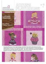 Cupcake Princess Anita Goodesign Embroidery Design Machine Cd