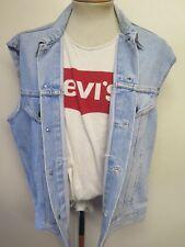 "VINTAGE Retro Grunge Levi's Red Tab Men's Denim Gilet Size XL 46-48"" Euro 56-58"