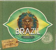 2 CD COMPIL 40 TITRES--BRAZIL JOURNEYS--SANTOS/PAPPA/FERRER/VISAZ/CARIOCAS...