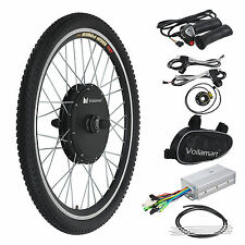 "26"" 48V 1000W Ebike Front Wheel Electric Bicycle Motor Conversion Kit Hub New"