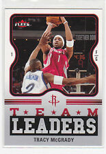 TRACY McGRADY, Rockets 06-07 Fleer TEAM LEADERS # TM