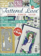 TATTERED LACE MAGAZINE With Free LADY EVELYN Dies (worth $16.99) + 16 papers