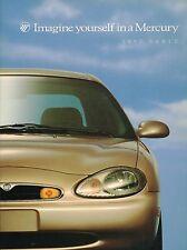 Big 1997 Mercury SABLE Brochure / Catalog with Color Chart: GS, LS,Station Wagon