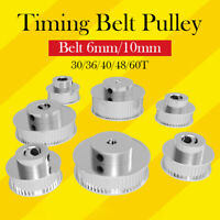 GT2 Pulley 30/36/40/48/60 Teeth 5 8 mm Bore Timing Belt Pulley CNC Laser Cutter