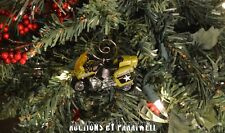 BMW Military Police Motorcycle Custom Christmas Ornament 1/64 Honda Harley