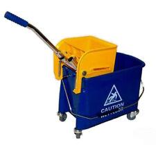 Cubo de la Fregona Carro Limpieza con Prensa,Enrollable Aprox. 19 Litros 2