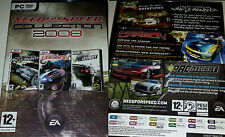PC Box Need for Speed Collection 2008 Spiele Most Wanted Carbon Prostreet Neu OV