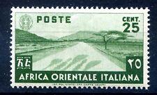 AOI - 1938  SOGGETTI VARI - Cent. 25  NUOVO  **