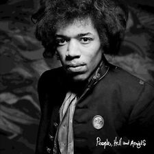 Jimi Hendrix Rock Music 33 RPM Speed Vinyl Records