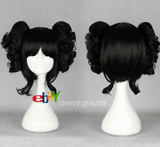 Lolita Japanese Harajuku Style Curly Cosplay Wig Two Clip on Ponytail No 233