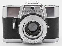 Voigtländer Ultramatic CS analoge Spiegelreflexkamera SLR Kamera Body Gehäuse