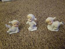 New ListingHomco Ice Skating Snow Babies Set Of 3 Figurines 5424